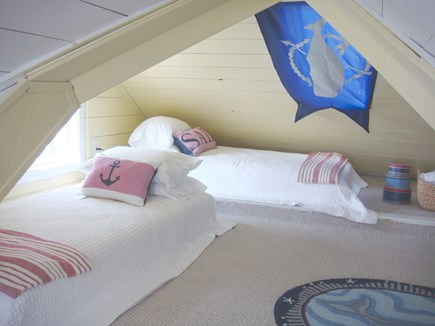 Siasconset Nantucket vacation rental - ...and Twin Beds on the other