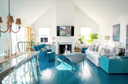 Tom Nevers, Nantucket Nantucket vacation rental - The sunshine filled LR seats 12 and has gorgeous water views.