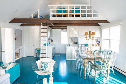 Tom Nevers, Nantucket Nantucket vacation rental - The open-plan LR/DR is a great place to enjoy meals