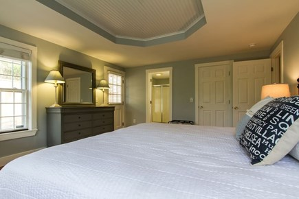 Nantucket town, Nantucket Nantucket vacation rental - The master suite comes with a  king bed and private entrance