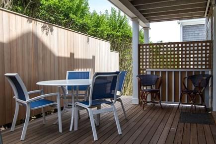 Nantucket town, Nantucket Nantucket vacation rental - The deck with outdoor shower