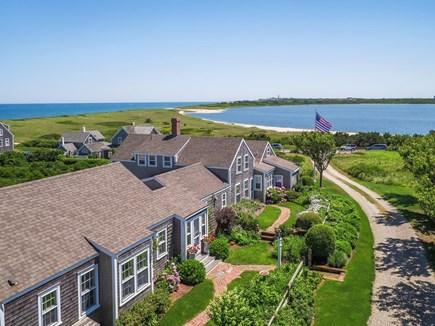 Quidnet Nantucket vacation rental - Areal view overlooking Sesachacha Pond and Atlantic Ocean