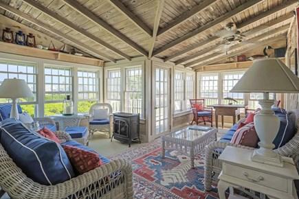 Quidnet Nantucket vacation rental - Sun Room Porch