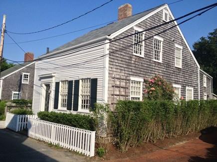 Nantucket town, Nantucket Nantucket vacation rental - Looking east on Weymouth St