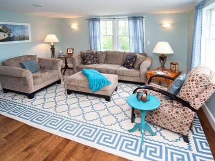 Madaket, Nantucket Nantucket vacation rental - Living room with large TV and DVR.