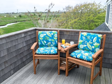 Madaket, Nantucket Nantucket vacation rental - Deck on second floor with views.