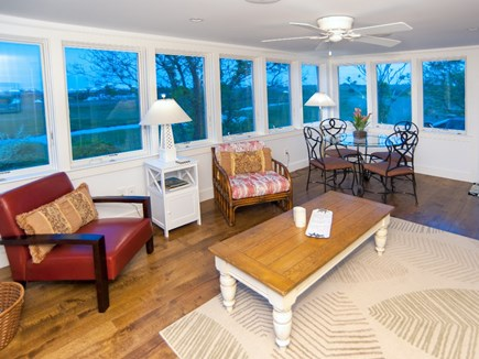 Madaket, Nantucket Nantucket vacation rental - 3 season porch off kitchen and family room