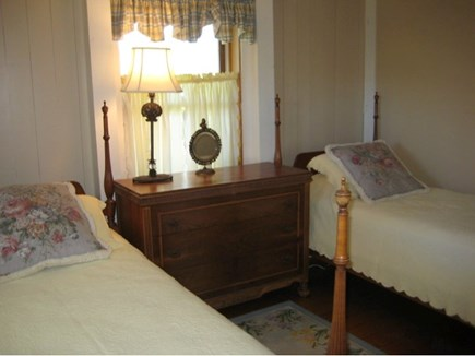 Tom Nevers Nantucket vacation rental - 2nd Bedroom; two twin beds, closet not shown