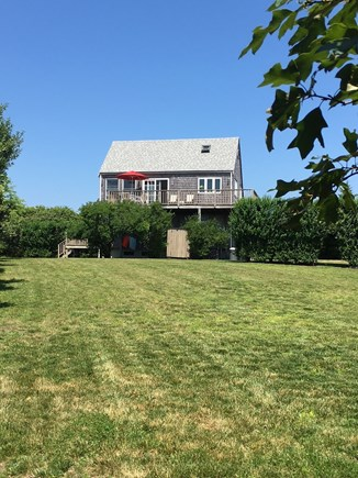 Tom Nevers Nantucket vacation rental - Spacious rear yard