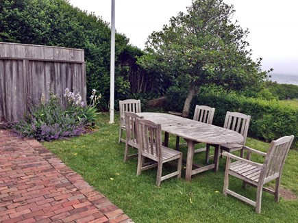 Siasconset, Nantucket Nantucket vacation rental - Patio area looking out to sea