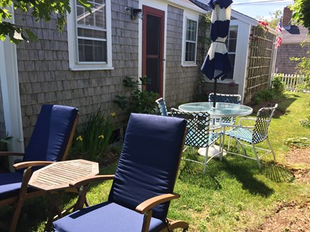 Siasconset, Nantucket Nantucket vacation rental - Side Yard