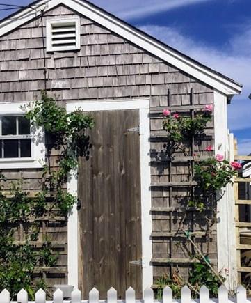 Siasconset, Nantucket Nantucket vacation rental - Lane side of the cottage