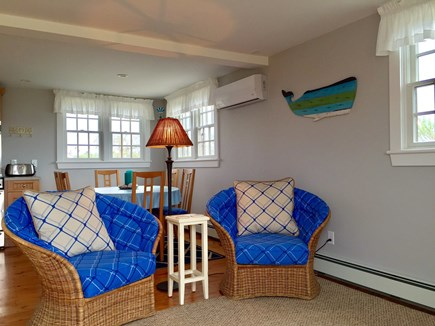 Madaket Nantucket vacation rental - Two cozy chairs to curl up and read a book