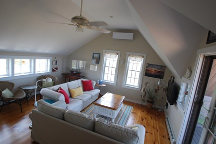 Madaket Nantucket vacation rental - Upstairs family room with plenty of space to relax