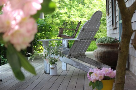 Surfside Nantucket vacation rental - Come home to our front porch