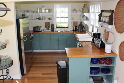 Surfside Nantucket vacation rental - Open plan kitchen - fully equipped