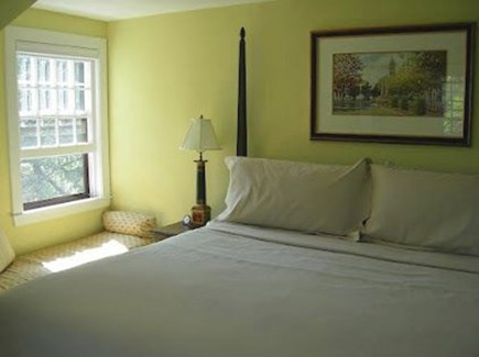 Surfside Nantucket vacation rental - Master king with window seat