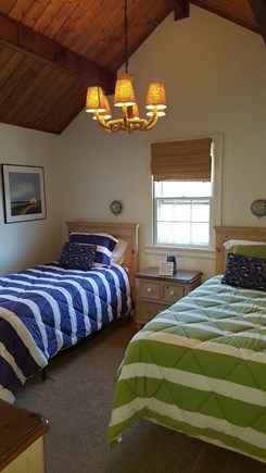 Madaket Nantucket vacation rental - Guest bedroom with 2 twin beds