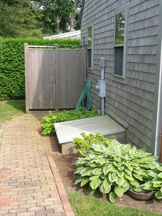 Siasconset Center Nantucket vacation rental - Outdoor shower