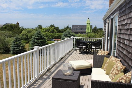 Cisco - Miacomet, Miacomet Nantucket vacation rental - Deck with amazing sunset views