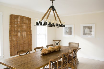 Siasconset Nantucket vacation rental - Dining Room table