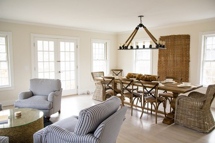 Siasconset Nantucket vacation rental - Living Dining area