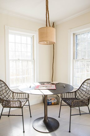 Siasconset Nantucket vacation rental - Card table