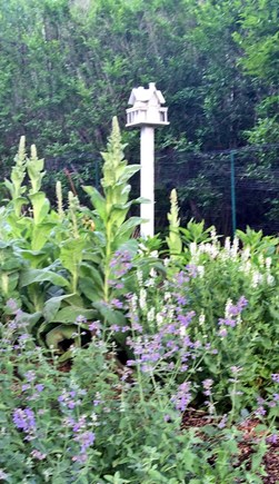 Siasconset Nantucket vacation rental - Side flower garden
