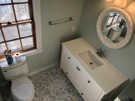 Tom Nevers Nantucket vacation rental - Remodeled bathroom with tile throughout & full bathtub