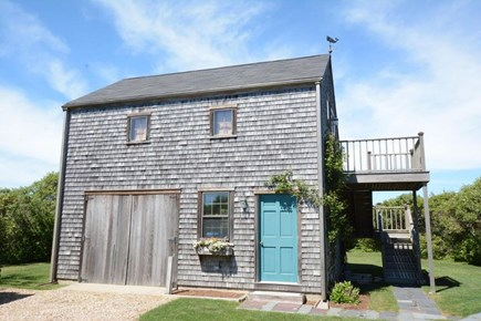 Tom Nevers Nantucket vacation rental - The garage & above the garage is a studio with 3 full size beds