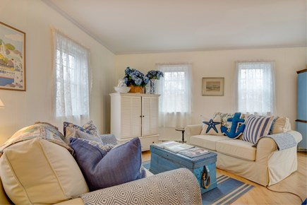 Tom Nevers, Nantucket Nantucket vacation rental - Sink into one of the two leather armchairs