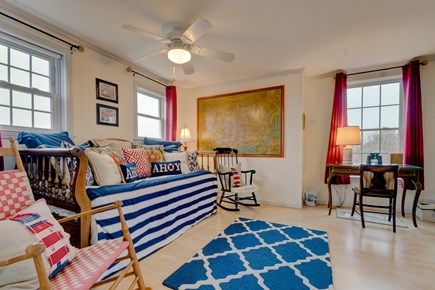 Tom Nevers, Nantucket Nantucket vacation rental - Nautical art, twin daybed, and rocking chairs set the mood