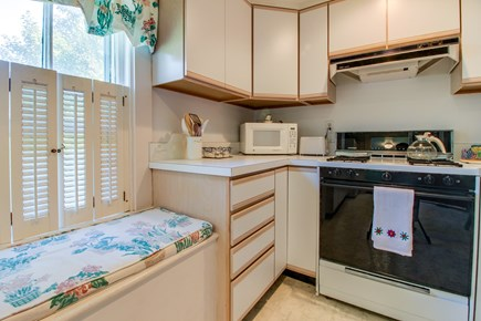 Nantucket town, Nantucket Nantucket vacation rental - Begin each morning in the simple full kitchen