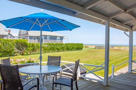 Brant Point, Nantucket Nantucket vacation rental - Front Porch Beach Side