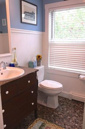 Surfside Nantucket vacation rental - First floor 1/2 bath
