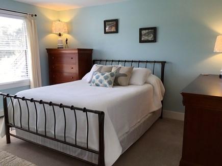 Surfside Nantucket vacation rental - Green bedroom, queen bed