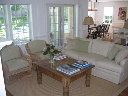 Nantucket town, Nantucket Nantucket vacation rental - Main House Sitting Area