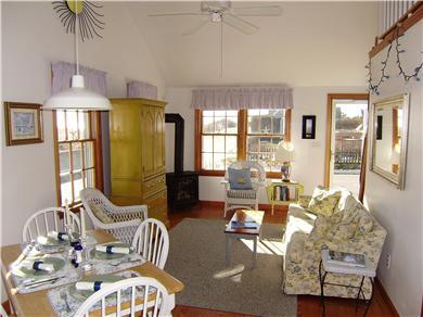 Siasconset Nantucket vacation rental - Dining Area & Living Room