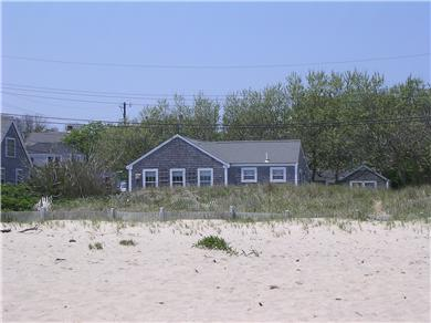 Siasconset Nantucket vacation rental - View of cottage from Cod Fish Park Beach