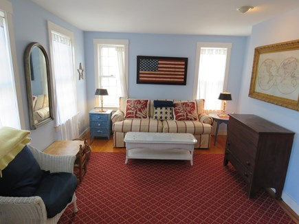 Mid-island, Naushop Nantucket vacation rental - Living roopm