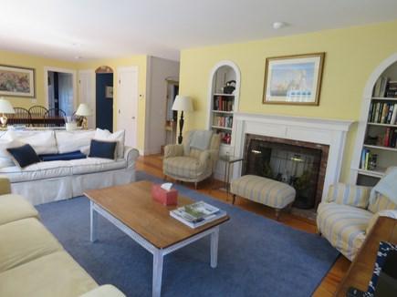 Mid-island, Naushop Nantucket vacation rental - Second Living room