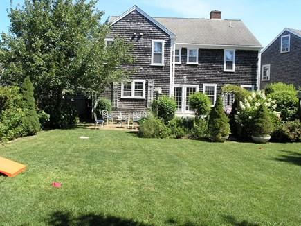 Mid-island, Naushop Nantucket vacation rental - Backyard