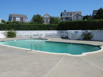 Mid-island, Naushop Nantucket vacation rental - Community pool