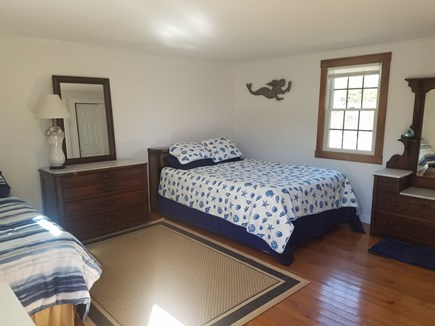 Surfside, Nantucket Nantucket vacation rental - Spacious bright and sunny bedroom with antique accents.