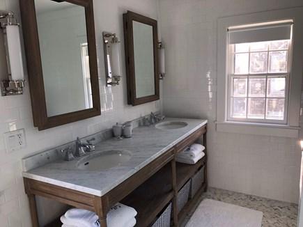 Nantucket town Nantucket vacation rental - 2nd Floor, en suite, brand new, master bathroom with double sinks