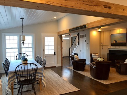 Nantucket town Nantucket vacation rental - Charming open concept dining and conversation area.