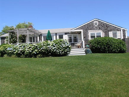 Nantucket town, Nantucket Nantucket vacation rental - Back yard & deck