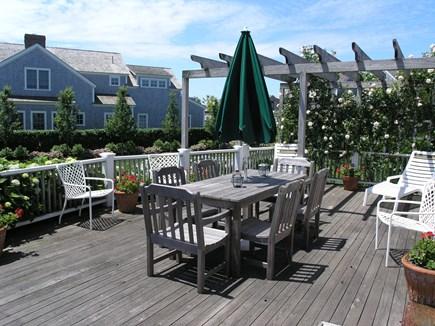 Nantucket town, Nantucket Nantucket vacation rental - Back Deck