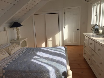 Madaket Nantucket vacation rental - Master suite with King bed and full bath on 3rd floor