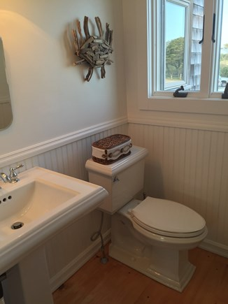 Madaket Nantucket vacation rental - 2nd floor nautical-themed bathroom